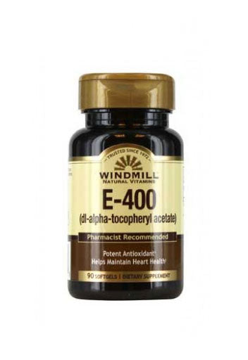 Windmill Vitamin E - 400 Iu - 90 Softgels