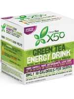 Tribeca Health Green Tea X50 Assorted