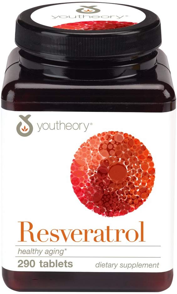 Youtheory Resveratrol 290 CT Supplement Facts