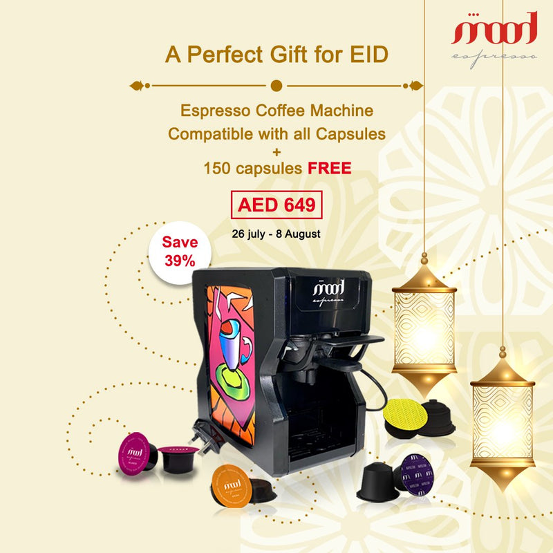 Special Offer - Coffee Capsule Machine and 150 Assorted Capsules