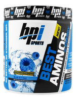 Bpi Sports, Best Aminos W/ Energy, Blue Ice Raspberry