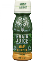 Brainjuice Peach Mango Original Bottle-2.5 Fl Oz
