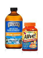Immunity Boost Combo - Sovereign Silver, Alive Gummies - Kids Multi-Vitamins