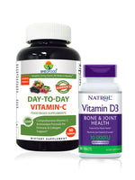 Immunity Booster Offer - Day-to-Day Vitamin C, Natrol Vitamin D3
