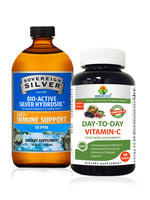 Immunity Booster Offer - Sovereign Silver, Day to Day vitamin C