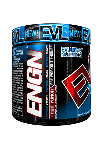 Pre Workout Evlution Nutrition Engn  30 Servings  Fruit Punch