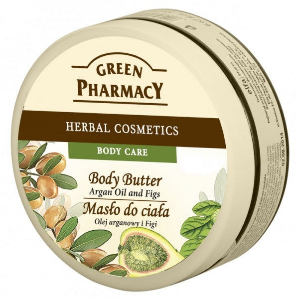 Green Pharmacy BODY BUTTER - ARGAN OIL and FIGS 200 ml