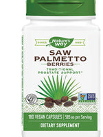 NATURE'S WAY SAW PALMETTO BERRIES 180 VCAPS
