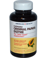 AMERICAN HEALTH - ORIGINAL PAPAYA ENZYME; 250 CHEWABLE TABLETS