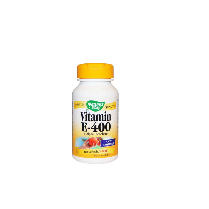 Nature'S Way, Vitamin E, 400 Iu, 100 Softgels.