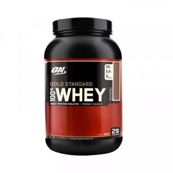 Optimum Nutrition 100% Whey Gold STD 2LB  Double Rich Chocolate