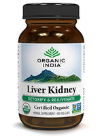 Organic India Liver Kidney 90 Veg Caps