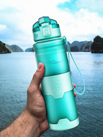 ZORRI Bottle For Water Protein Shaker Portable Motion Sports Water Bottle Bpa Free Plastic For Sports Camping Hiking Gourde