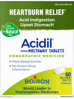 BOIRON - ACIDIL-HEARTBURN - 60 TABLETS