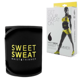 Sweet Sweat Waist Trimmer Belt, Yellow, Medium Size
