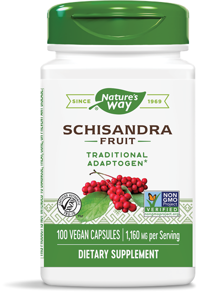 Nature's Way Schizandra Fruit 100 Caps
