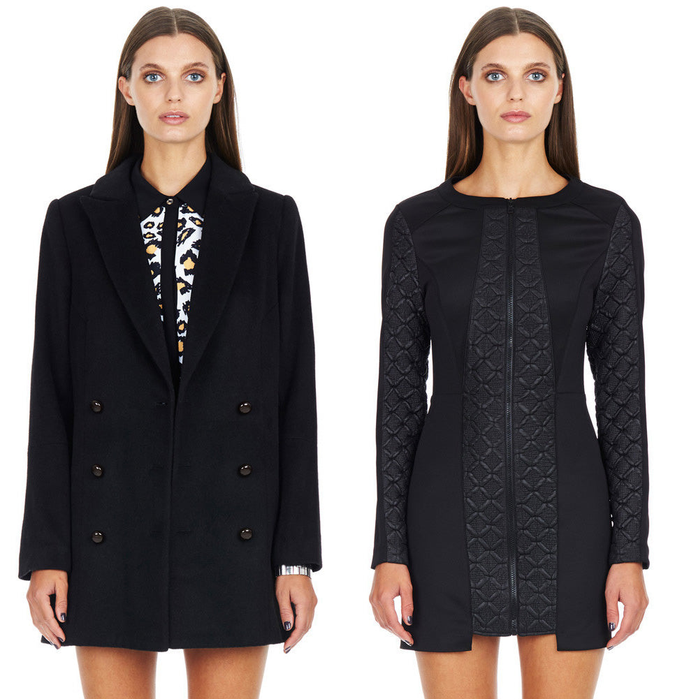 Monochrome Coats and Dresses by Minty Meets Munt