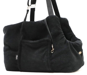 "Dog Carrier ""Teddy Bear"" Office and Travel Black"
