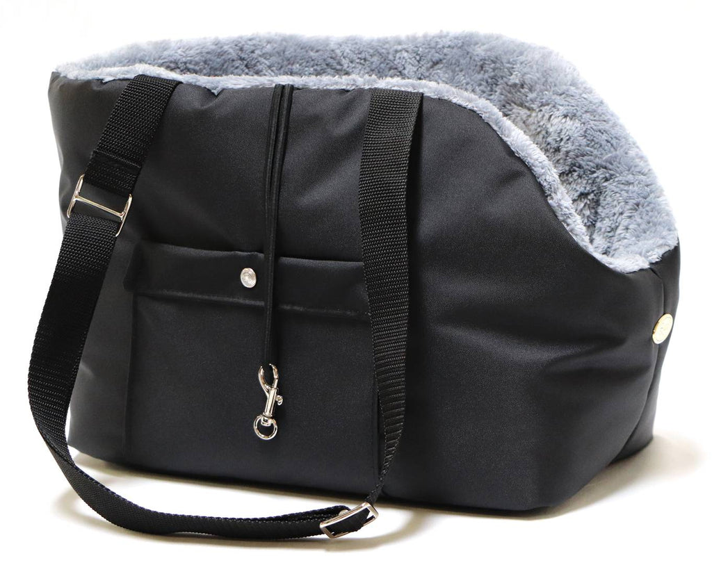 Rainy Bear Black and Grey Dog Carrier
