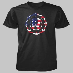 USA Flag Icon Tee