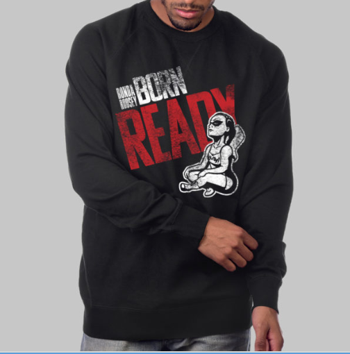 """Born Ready"" Crew Neck Sweatshirt"