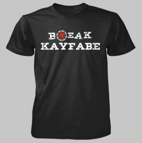 Break Kayfabe Tee