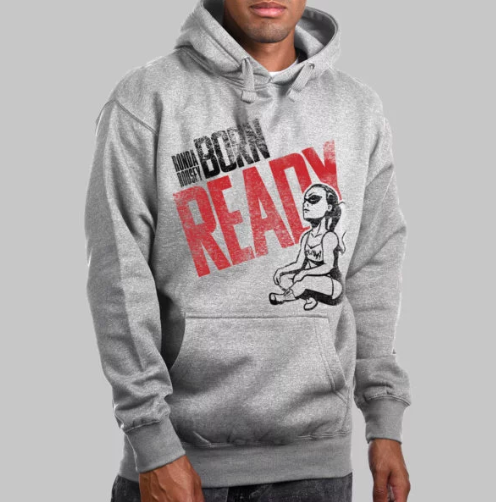 """Born Ready"" Pullover Hoodie"