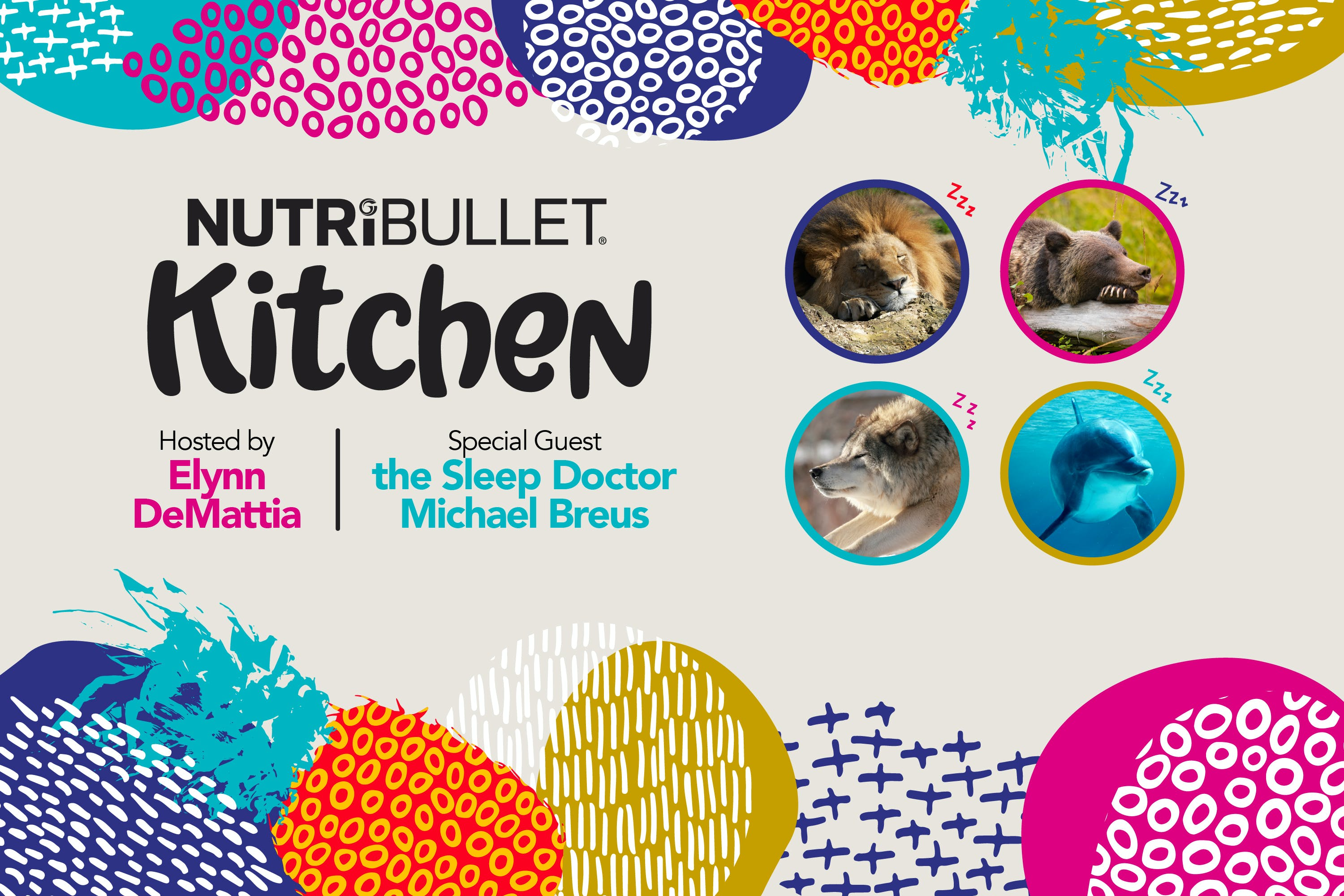 NutriBullet Kitchen Podcast Episode 2 Interview with Dr. Michael Breus
