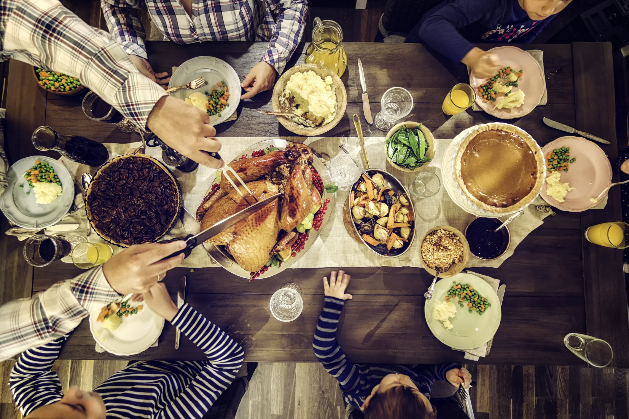 Turkey Day Tips to Keep You from Tipping the Scale