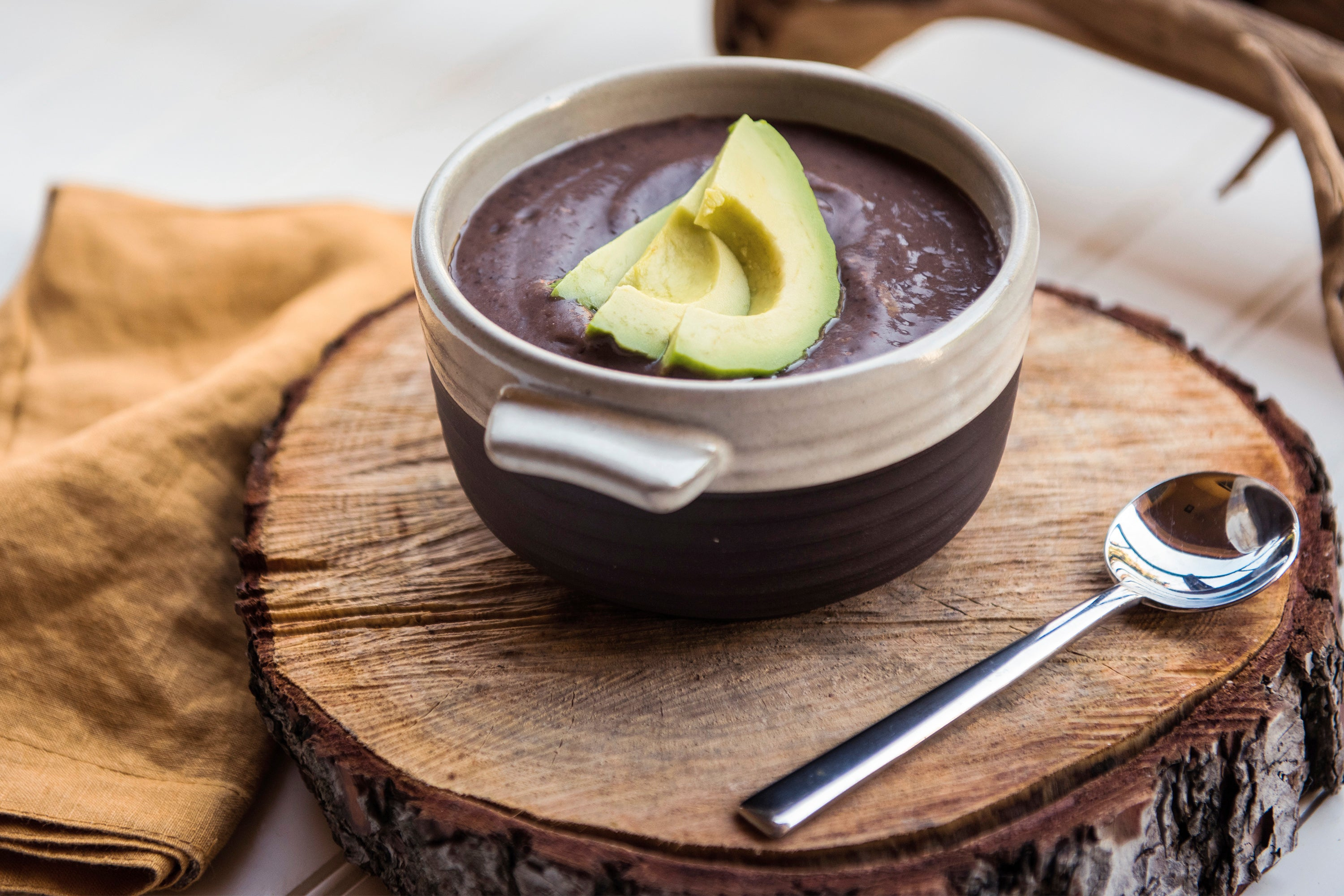 Bring On The Fiber Black Bean Soup