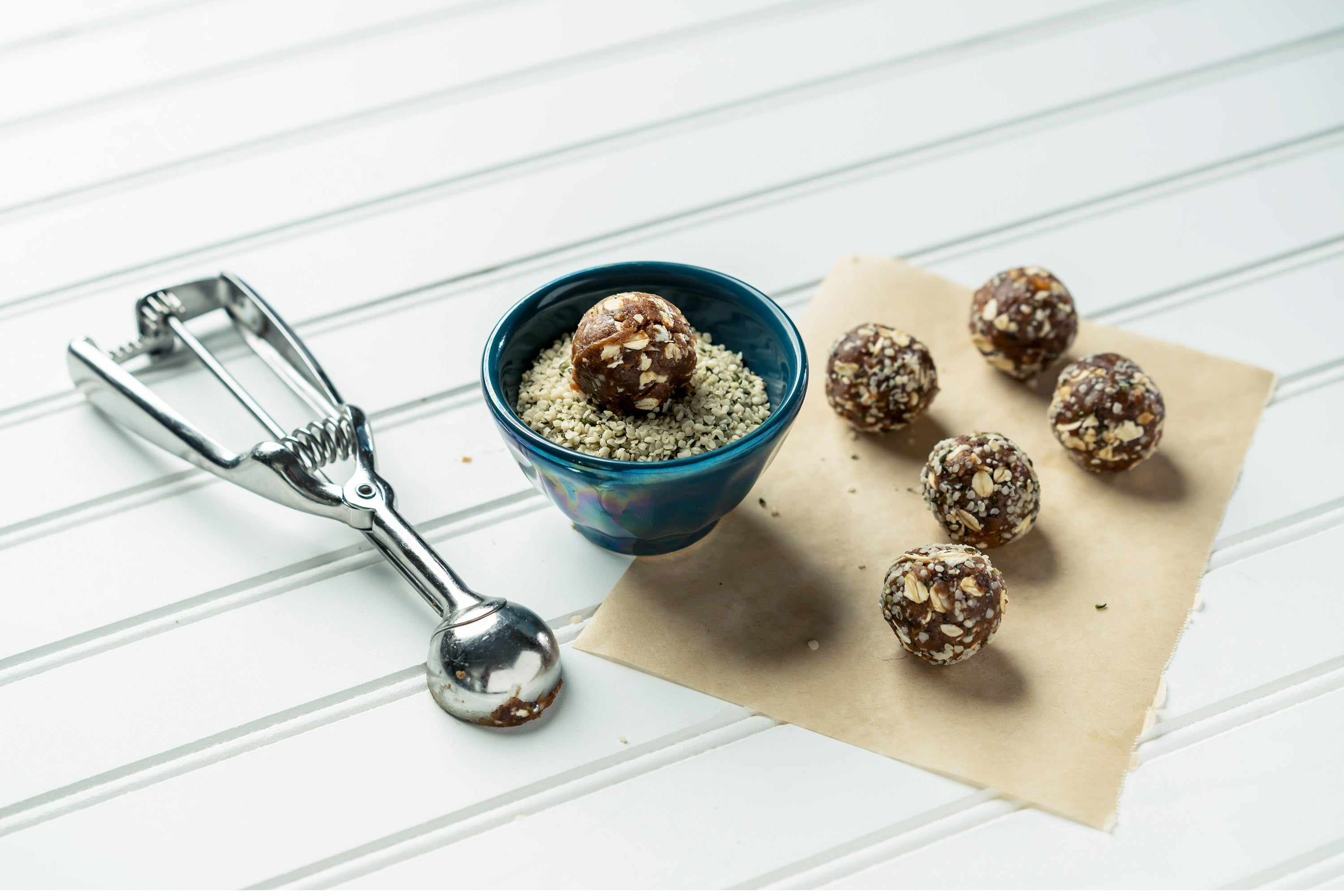 No-Bake Trail Mix Bites