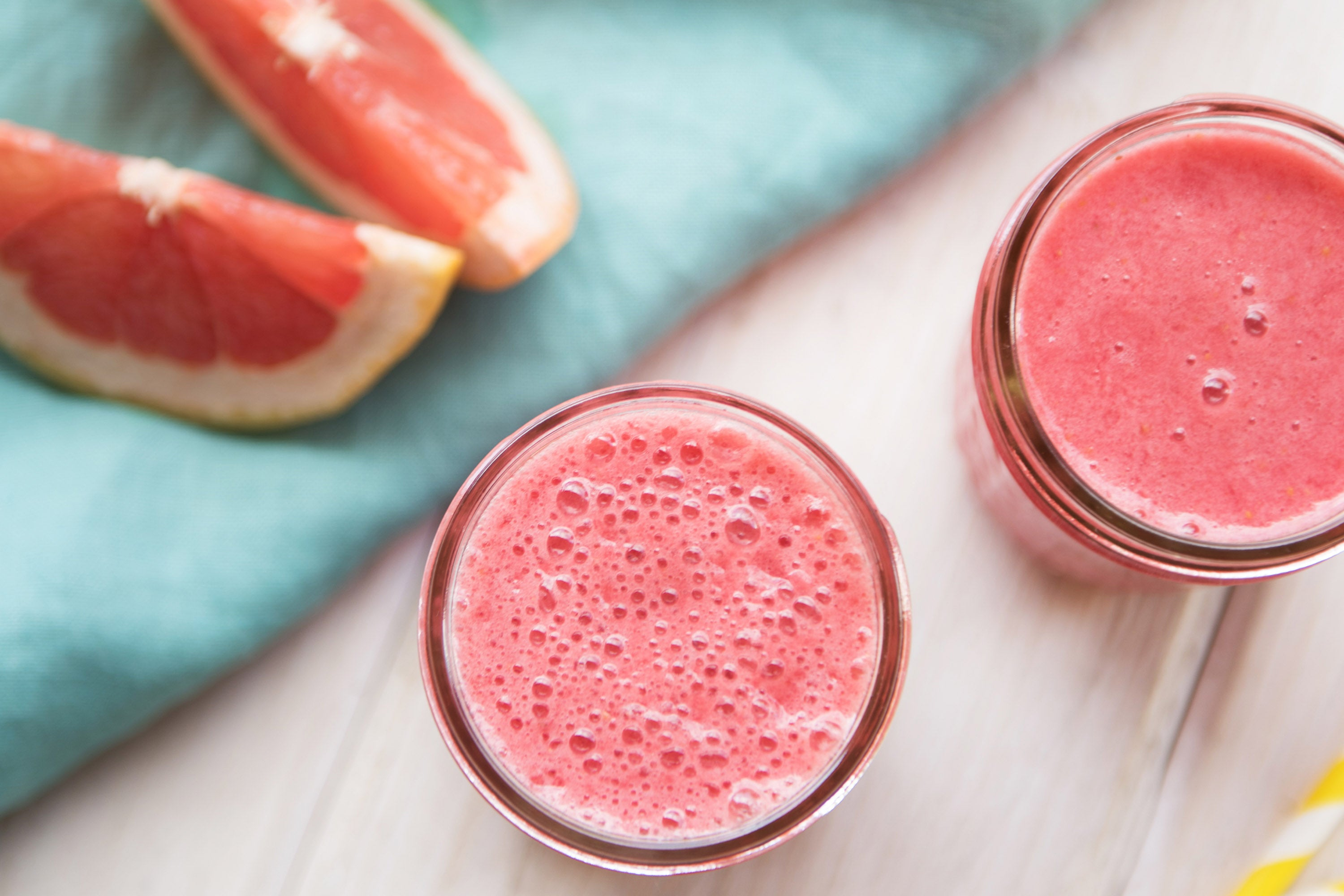 Tangy Pink Lemonade Smoothie