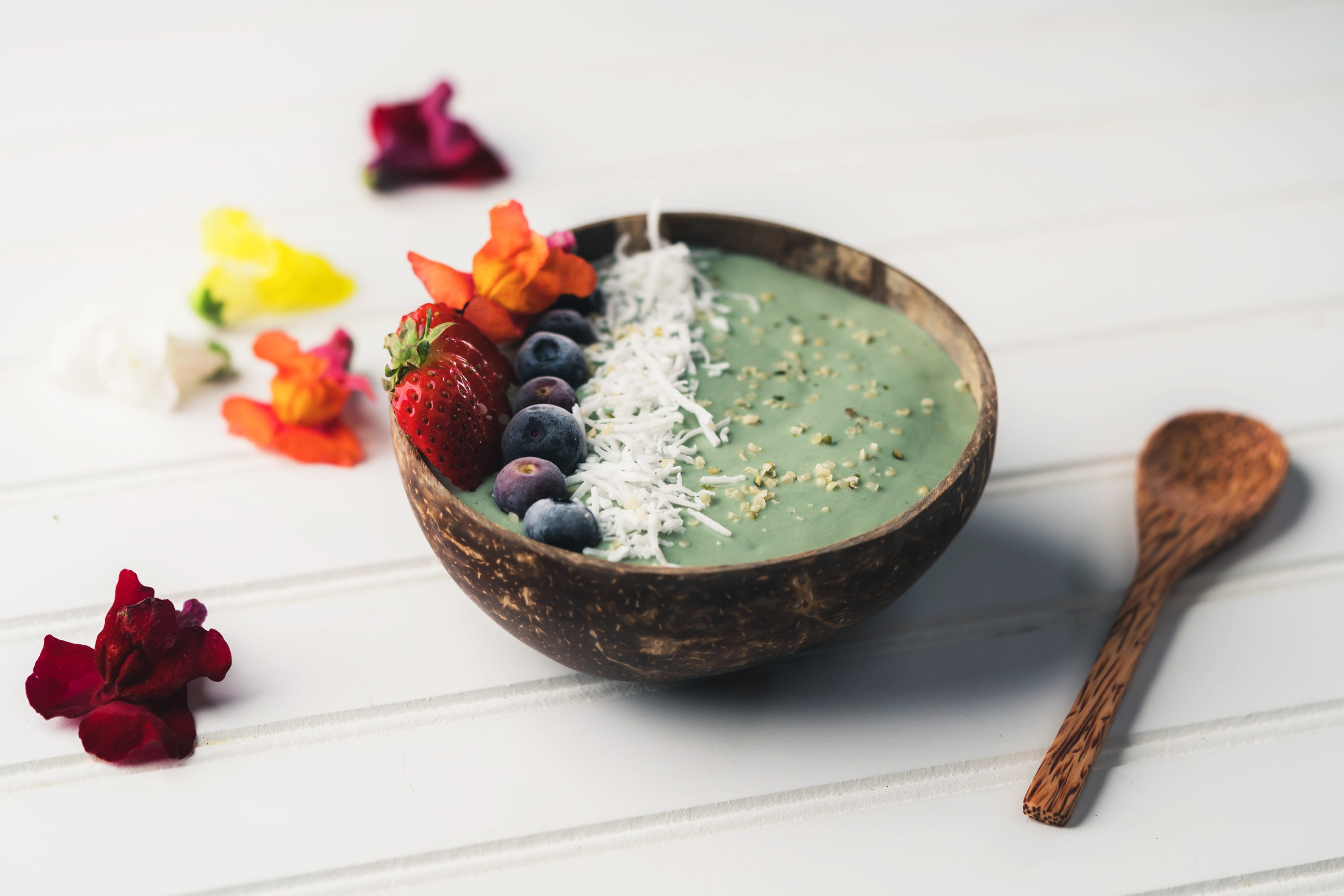 Azure Coconut Smoothie Bowl