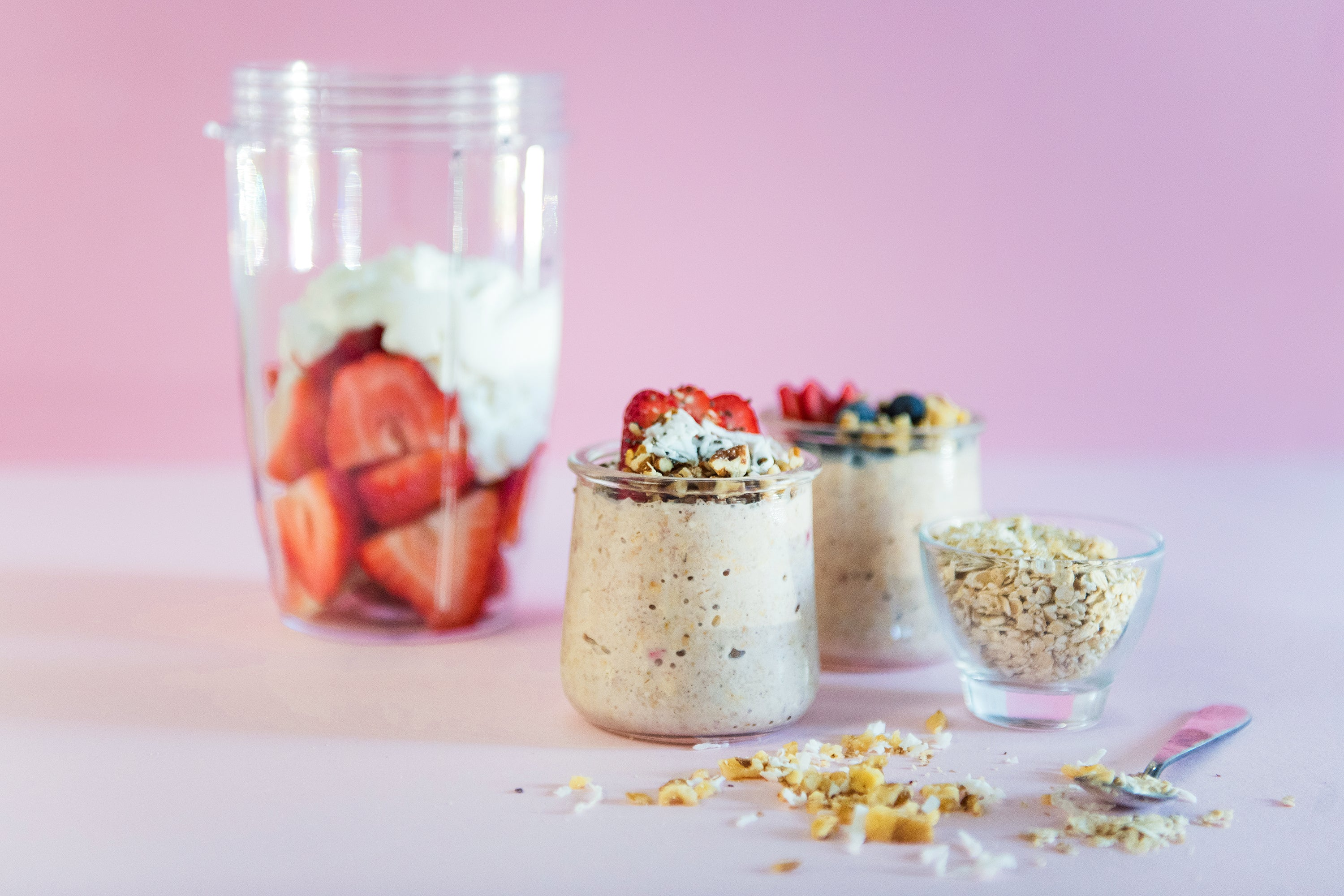 Large Batch of Overnight Oats