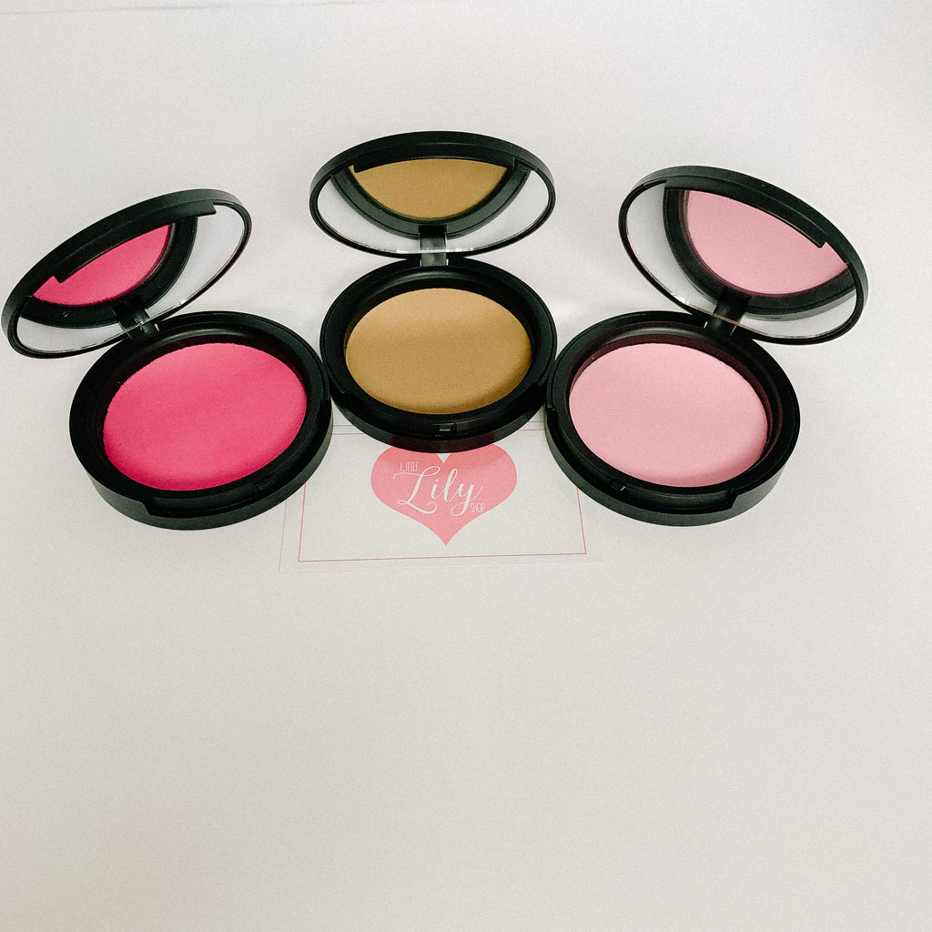 Little Lily Shop Foundation or Blush Compact Pretend Makeup