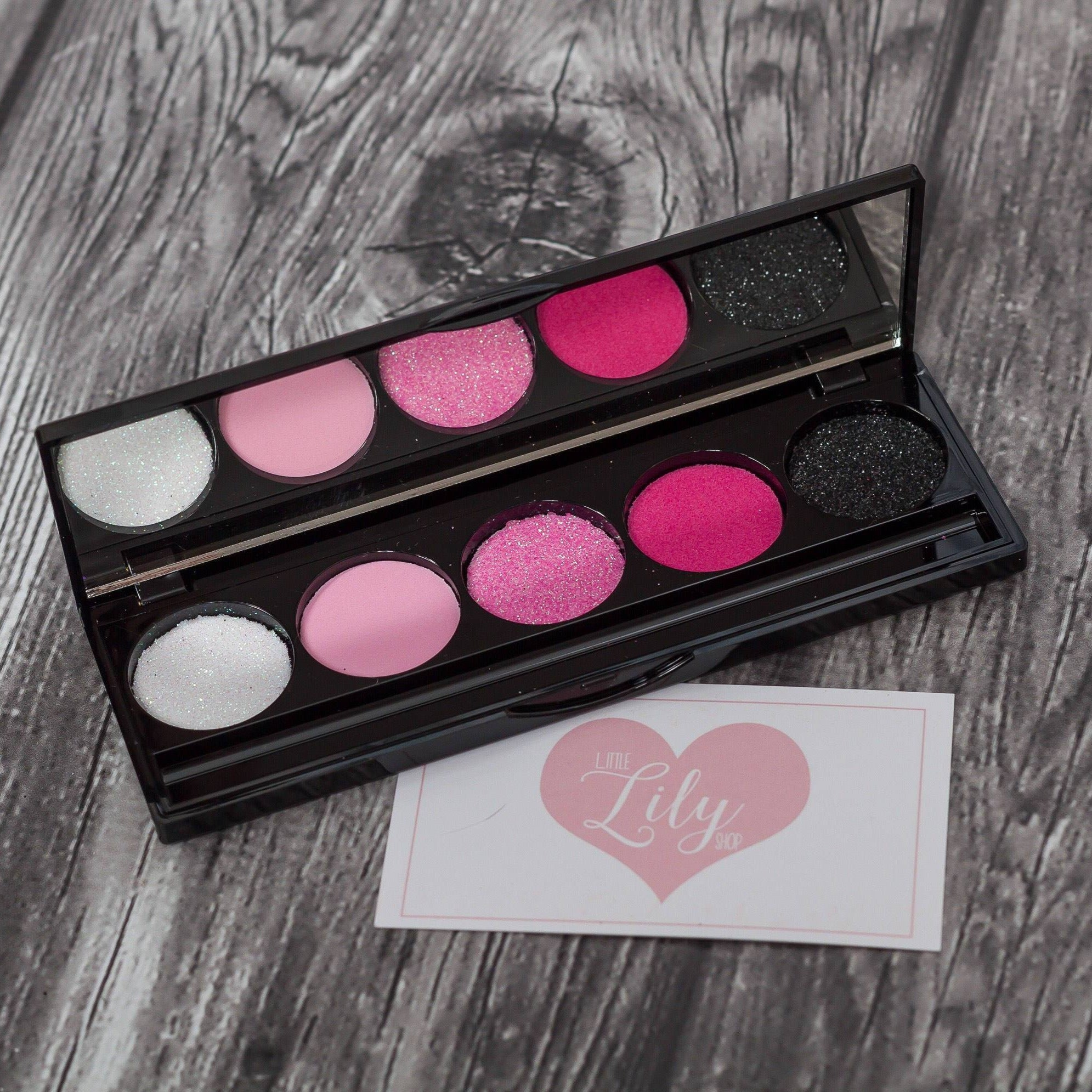 Little Lily Shop Diva Pink Eyeshadow Palette Pretend Makeup