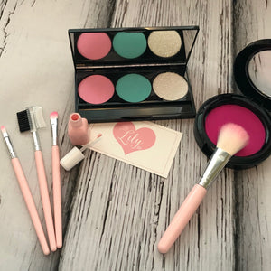 Little Lily Shop Pastel Pink Collection Pretend Makeup