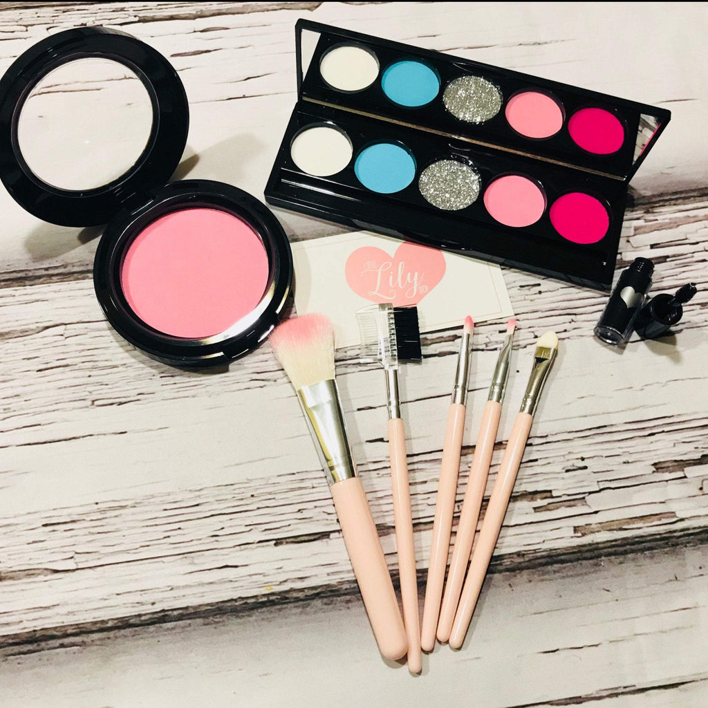 Little Lily Shop Pastel Party Pink Collection Pretend Makeup