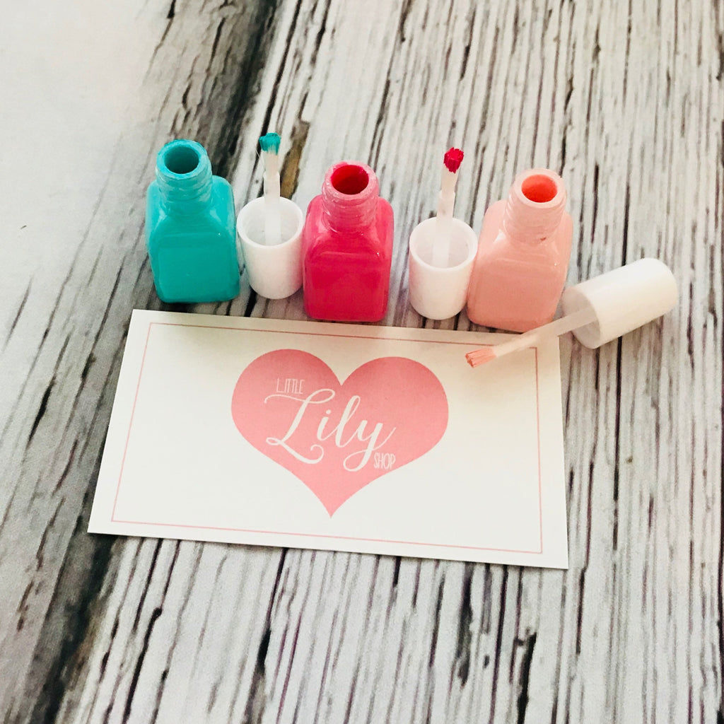 Little Lily Shop Pretend Mini Nail Polish