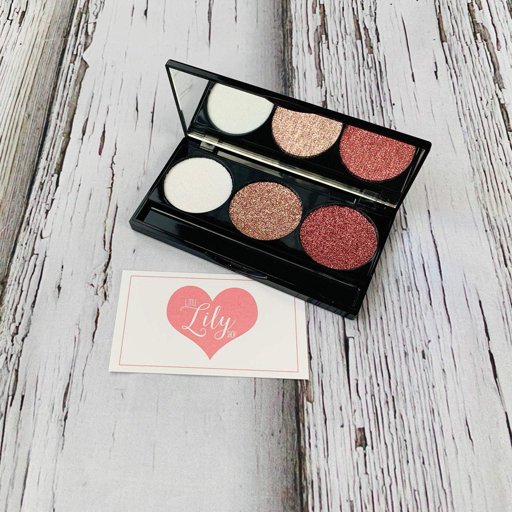 Little Lily Shop Scarlett Everly V 3 Well Eyeshadow Palette Pretend Makeup