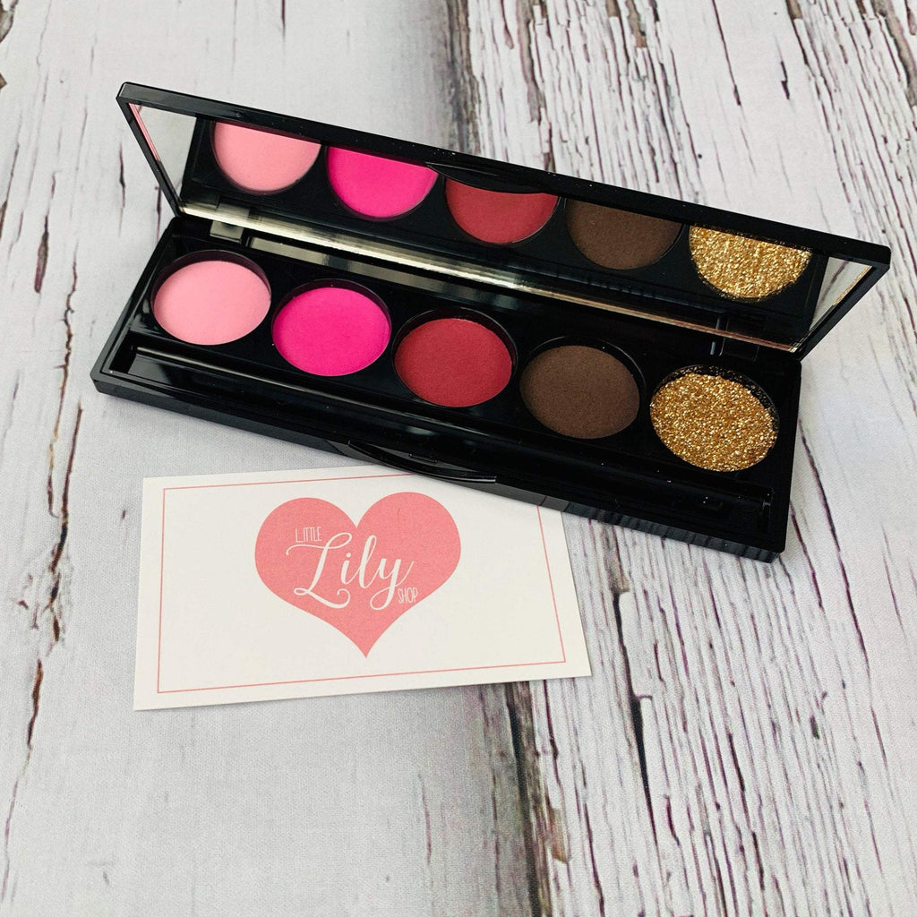 Little Lily Shop Scarlett Everly  5 Well Eyeshadow Palette Pretend Makeup
