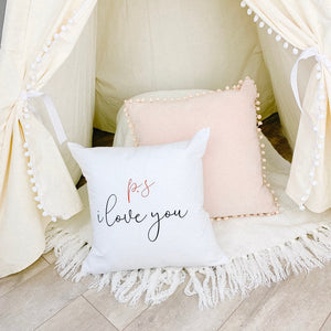 Little Lily Shop PS I love You Pillow Case