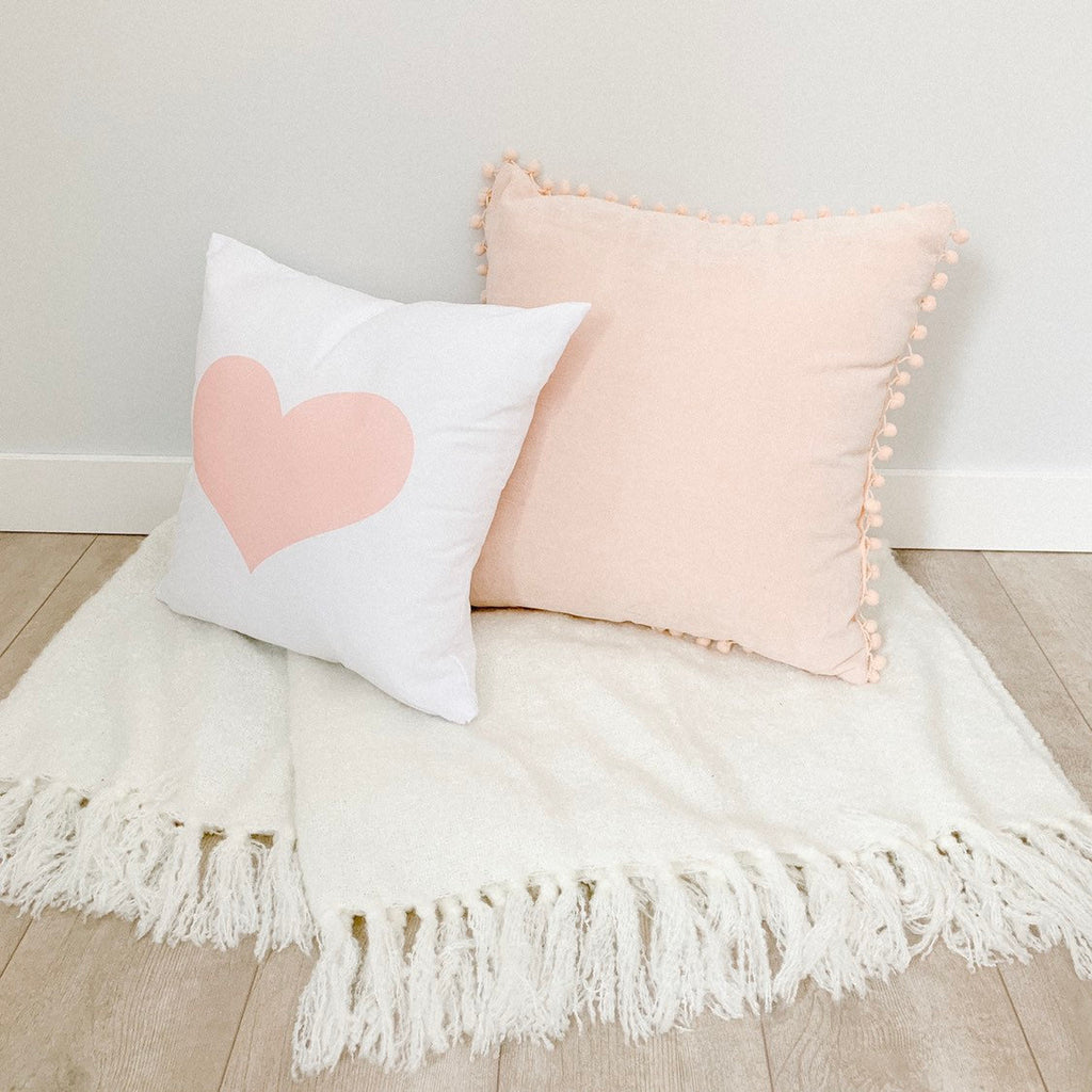 Little Lily Shop Signature Little Lily Heart Pillow Case