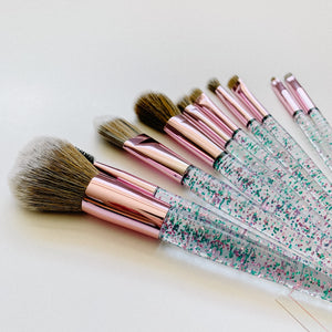 Summer Shimmer Makeup Brushes