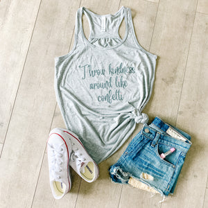 Throw Kindness Around Like Confetti Women's Tank Top