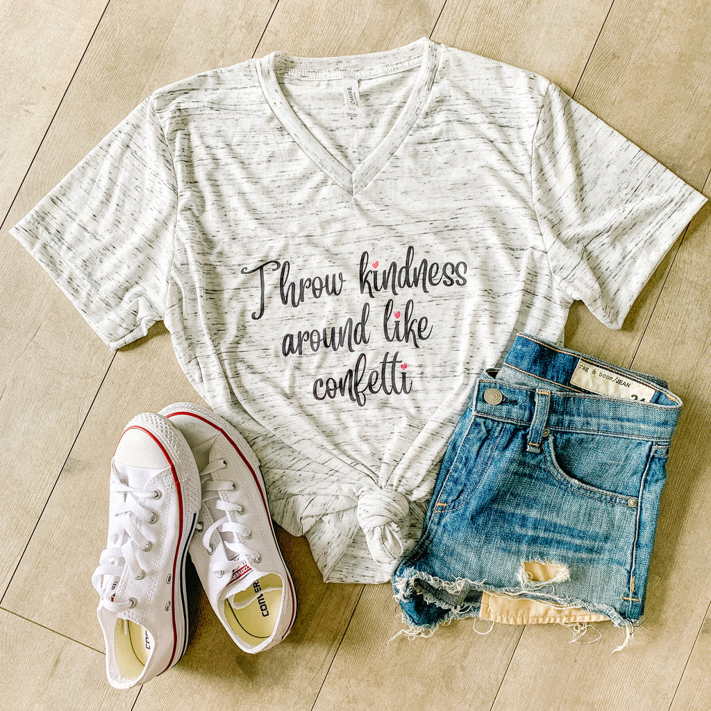 Throw Kindness Around Like Confetti Women's T-Shirt