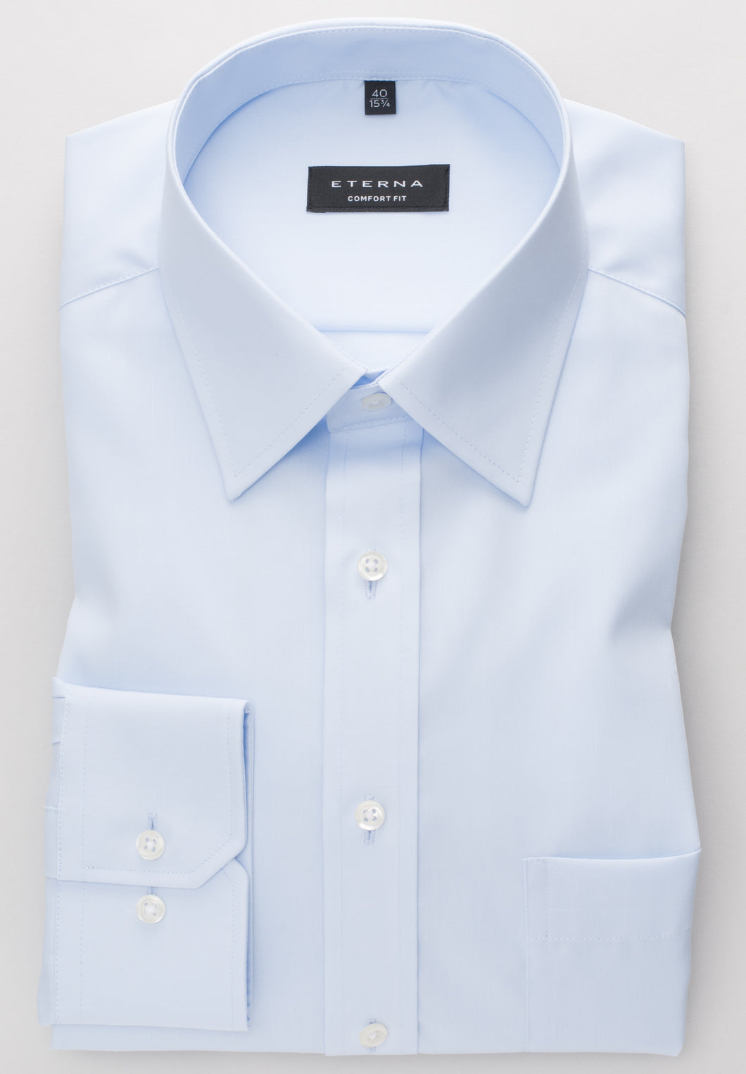 Eterna Comfort Fit Shirt Blue 1100/10