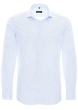 Load image into Gallery viewer, Eterna Slim Fit Shirt Blue 1100/10