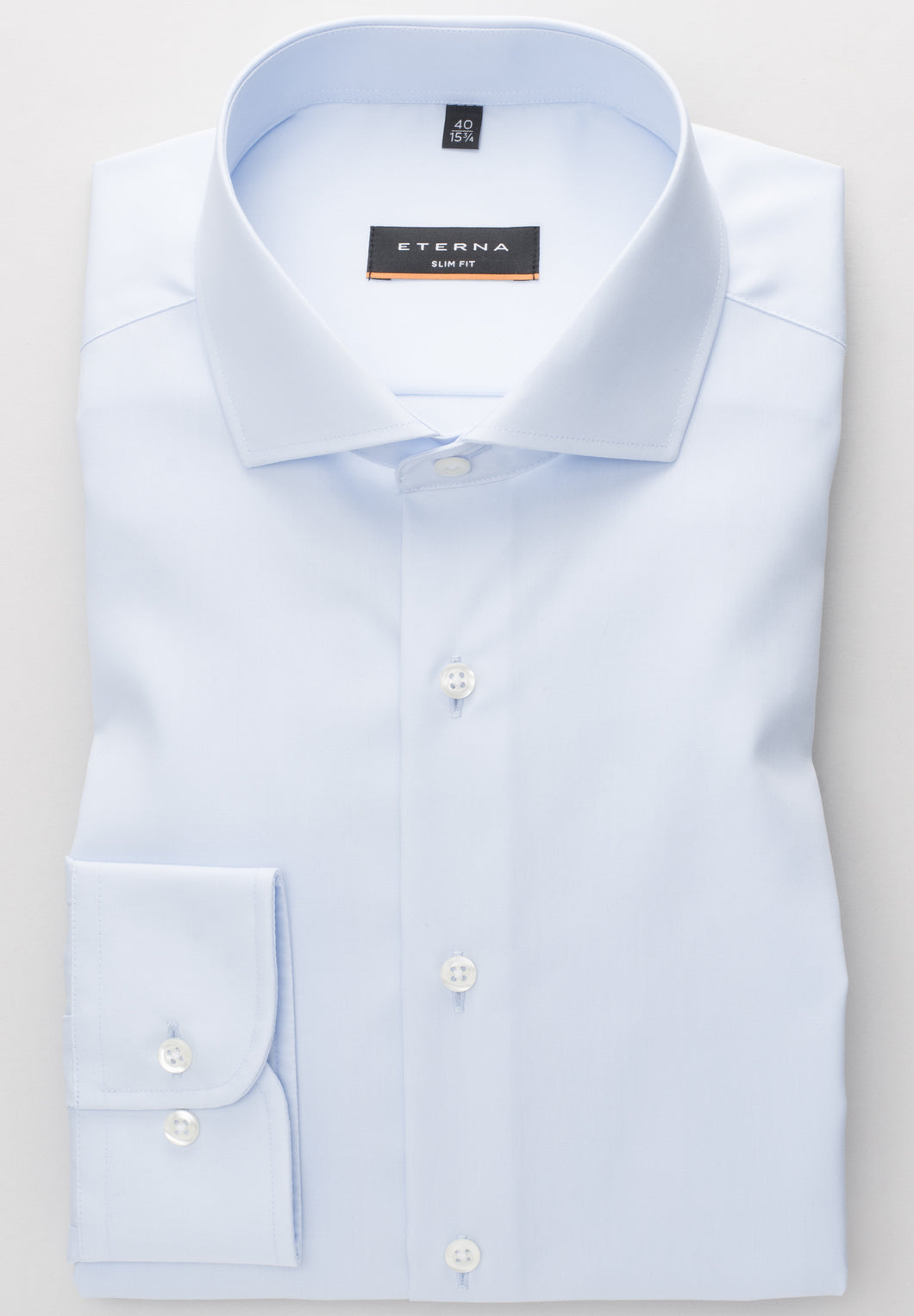 Eterna Slim Fit Shirt Blue 1100/10