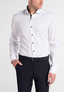 Eterna Slim Fit Shirt White 8100/00